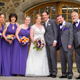 bridal party outside radnor hunt