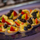 Fruit tarts by J. Scott Catering