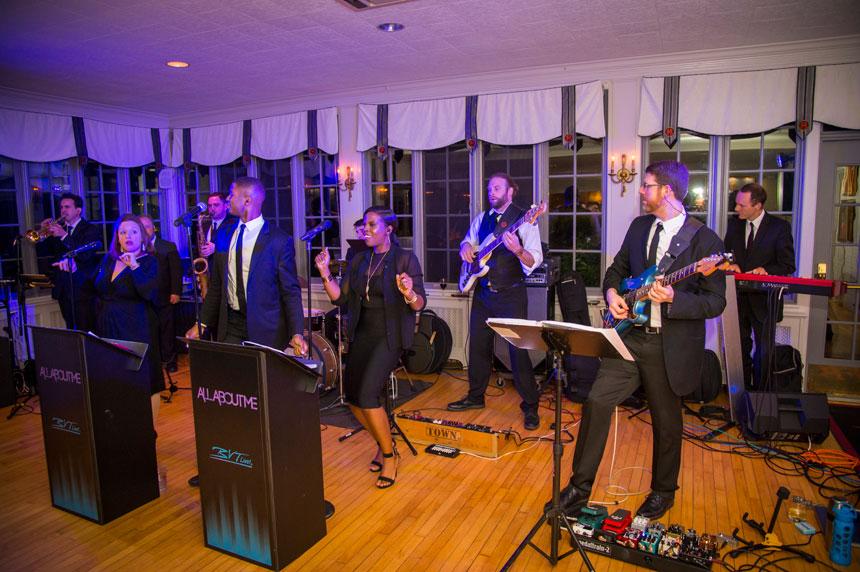 Band at Wedding at Radnor Hunt