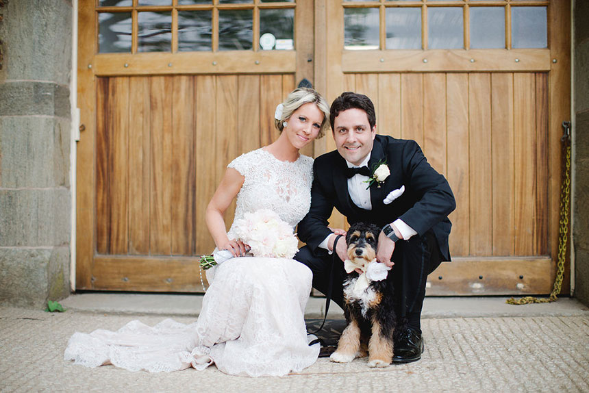 Billy and Bernadette's Charming Wedding at Radnor Hunt