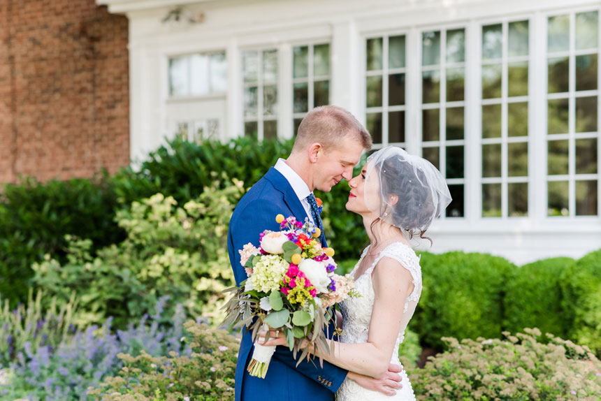 Meagan and Andy's Marvelous Mint-Colored Wedding